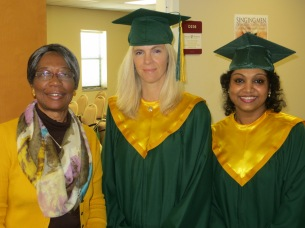 Lois Craver and graduates Photo 2